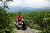 Sharon and Cinder at Craggy Gardens